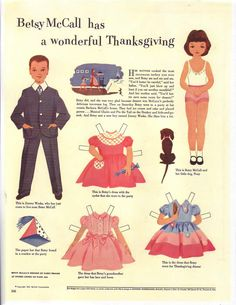 I had the dress in the lower right that Betsy wore to Thanksgiving.  Mine was grey, pink and maroon.  go figure