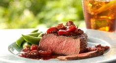 Check out this delicious recipe for Filet Mignon Steaks with Port, Cherries, and Thyme from Weber—the world's number one authority in grilling.