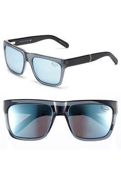 2fd98990f68a Men's Original Penguin 'The Flynn' 55mm Polarized Sunglasses - Charcoal/  Silver Mirror Polarized