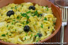 Recette de bacalhau à brás. Cuisine portugaise