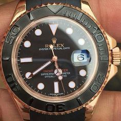 Rolex Yacht Master 2  #audemars #rolex #luxurylife #patekphilippe #jamhublot #hublot #rich #swag #billionare #millionare #panerai #gq #love #instagood #beautiful #photooftheday #instapic #instagram #instacollage #fashion #tourbillon #chronograph #watchanish #thegoodlife #milleholic #watchesofinstagram #watchme #watchnerd by mujibmunawan