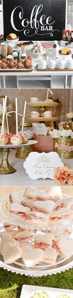 New Vintage Bridal Shower Brunch Bridesmaid Ideas Bridal Shower Party, Bridal Shower Decorations, Bridal Showers, Donut Bar, Brunch Decor, Brunch Ideas, Brunch Buffet, Do It Yourself Wedding, Vintage Bridal