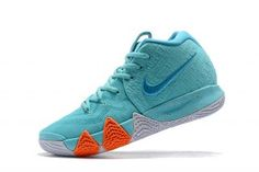 timeless design bdc88 b98dc Ventilation Nike Kyrie 4 Light Aqua Neon Turquoise 943806 402 Mens  Basketball Shoes