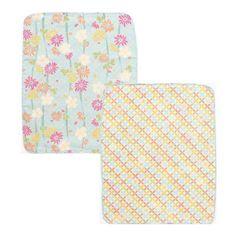 KUROCHIKU Double-Sided Gauze Handkerchief - Japanese Anemone