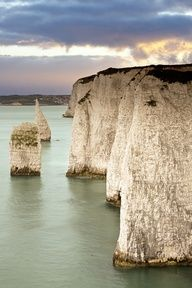 Old Harry Rocks, Dorset, England♥