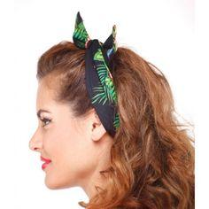 Image result for headband rockabilly