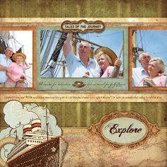 Reminisce Travel Digital Layout