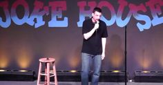 A Funny Guy Stands On Stage And Goes Right For The Abortion Joke. He Makes An Excellent Point