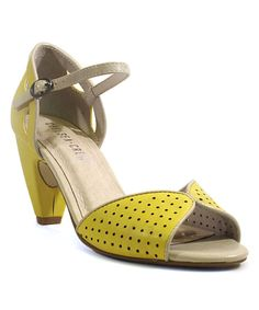 Lime Perforated Nicola Pump