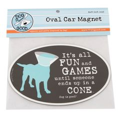 "Fridges and more Life/'s Better with an Akita  6/"" x 4/"" Oval Dog Magnet for Cars"