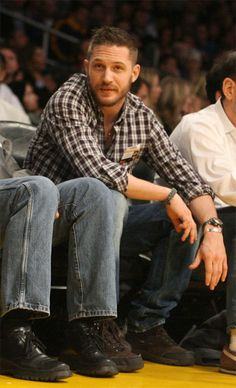 Tom Hardy - My new man....except for Timothy of course.