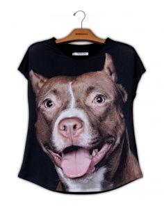 Camiseta Premium Evasê Pit bull www.usenatureza.com #UseNatureza #JeffersonKulig