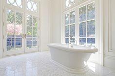 Sun-lit bathroom. 222 Poplar Drive, Oakville