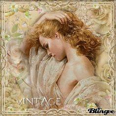 ....  #blingee #vintage #womanbeauty