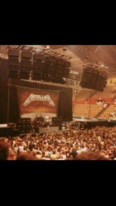 Metallica Concert, Jason Newsted, Robert Trujillo, Master Of Puppets, Ride The Lightning, Dave Mustaine, Kirk Hammett, James Hetfield, Concert Posters