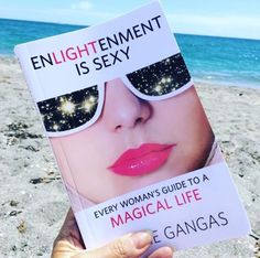 """#Repost from Lisa Smith: """"@enlightenment_is_sexy on the beach - title for the sequel? #mustread"""" 