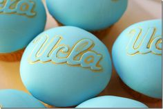 @UCLA Cupcakes @UCLA Athletics #sweets #UCLA #cupcakes