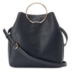 LC Lauren Conrad Large Bucket Bag