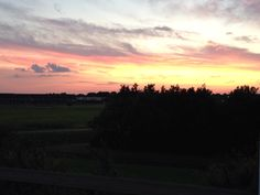 Holland's sunset