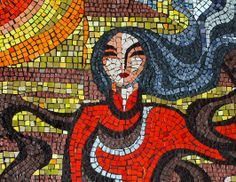 MID-CENTURIA : Art, Design and Decor from the Mid-Century and beyond: Soviet Airport Mosaics
