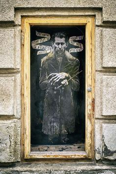 The things you find in the shadows Dracula, Graffiti Art, Vienna, Art Quotes, Austria, Shadows, Politics, Painting, Wall