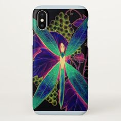 dragonfly style iPhone x case -nature diy customize sprecial design