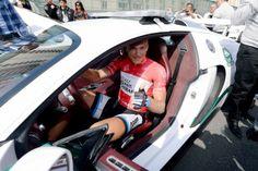 Gallery: 2014 Dubai Tour, stage 4 - VeloNews.com - A fast car for a fast man. Photo: Tim De Waele | TDWsport.com
