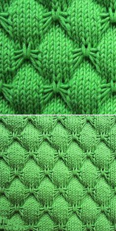 Knit Butterfly Stitch Blanket Free Knitting Pattern -Video Tutorial - Crochet and knitting pattern - Stricken Knitting Stiches, Easy Knitting Patterns, Loom Knitting, Free Knitting, Knitting Projects, Knit Stitches, Baby Blanket Knitting Pattern Free, Baby Knitting, Knitting Blankets
