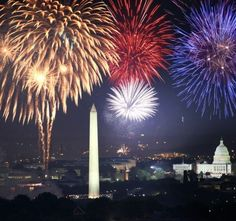 Washington D.C.  Fourth of July fireworks I remember a crowd of 500,000 around 1980 when I was there.