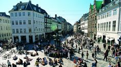 Copenhagen has the largest pedestrian street in the world, which was converted from a regular street in an ongoing effort to re-organize the city around people and not cars.