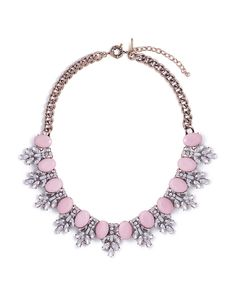Frosted Peony Necklace - JewelMint
