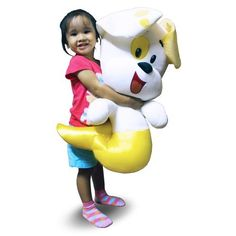 "Bubble+Guppies:+27""+Bubble+Puppy+Plush+Doll"