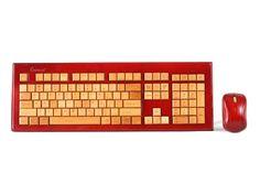 Bamboo Wireless Keyboard & Mouse Set
