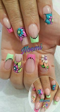 Mobile Nails, Paws And Claws, Pretty Nail Designs, Spring Nails, Beauty Nails, Pretty Nails, Pedicure, Finger, Nail Art