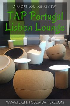 Wondering what to expect from the Premium Lounge of TAP Portugal in Lisbon (free entry for business class passengers of TAP and Star Alliance member airlines) - read this post to learn about my TAP Lisbon lounge experience. #portugal #lisbon #airportlounge