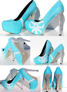 Hey, I found this really awesome Etsy listing at https://www.etsy.com/listing/171435804/tiffany-blue-glitter-heels-with