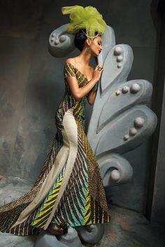 ♥African Fashion: Vlisco: AfroFunky