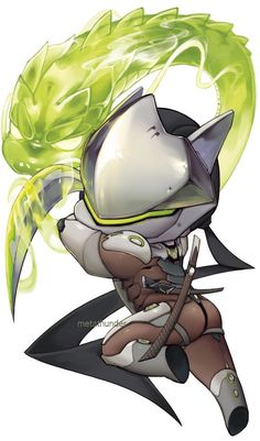 It seems to be an unspoken law that everyone agrees that genjis ass and thighs are amazing