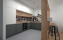 Kuchnia styl Skandynawski - zdjęcie od BIG IDEA studio projektowe