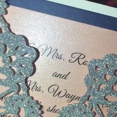 Customized Luxury Laser Cut Wedding Invitations in Tiffany Blue Shade#weddinginvitations#ElegantWeddingInvites