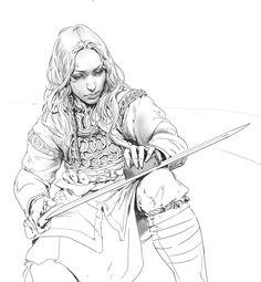 ArtStation - Daily Sketches Week 42, Even Amundsen