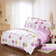 Fashion 100% Pure cotton lace pillowcase bed sheet 4 Pieces bedding sets duvet/quilt/comforter cover sets bedspread bedclothes $76.00 - 78.00