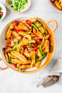 Salt And Pepper Chips, Oven Baked Chips, Chinese Salt, Potato Sides, Healthy Salt, Chinese Five Spice Powder, Chinese Takeaway, Easy Stir Fry, Chips Recipe