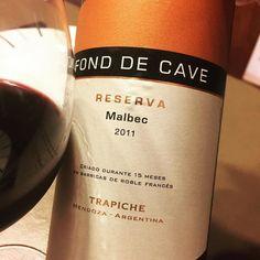 Queres un vino que nunca falla? Ok... descorchá @trapichewines Fond De Cave Reserva Malbec