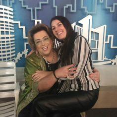 No colinho! Malu Abib e Mamma Bruschetta| Programa Mulheres | TV Gazeta | Dezembro de 2015.