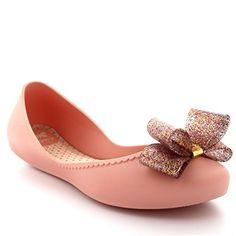 cdb1926ee Amazon.com | Womens Zaxy Start Summer Flat Work Casual Glitter Slip On  Rubber Shoes | Shoes
