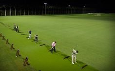 The new driving range - nearly tripled in size! Have you tried it out yet?