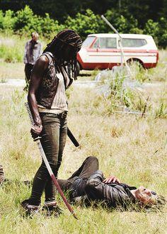 Walking Dead Black Beautiful Assassin...