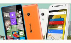 #Microsoft #Lumia540Dual y #Motorola #MotoEDualSIM (2da gen)