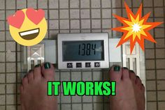 This is amazing! I started at 158lbs....20lbs down. Lovin ITWORKS💚